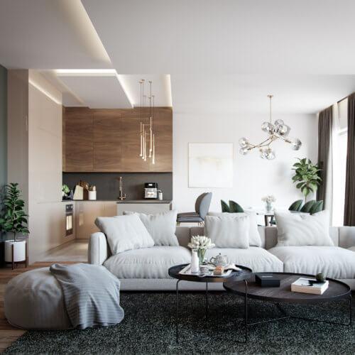 Living Room Interior - Sofia