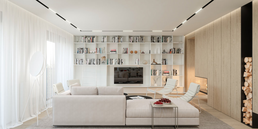 Living Room, Interior Design - Sofia
