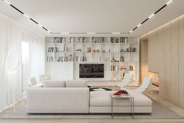 Living Room, Interior Design - Sofia